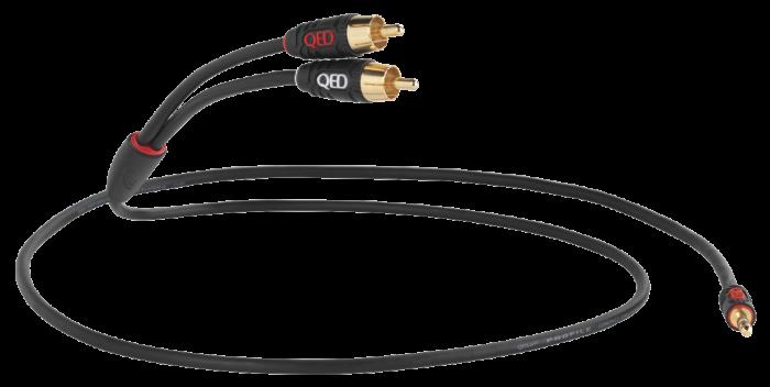 QED - Profile J2P (jack 3.5mm - RCA) 0