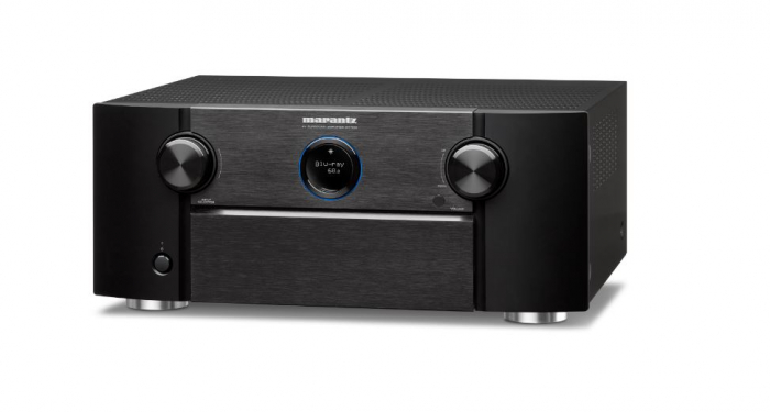 Receiver 9.2 Marantz SR7015, Ultra HD 8K, Dolby Atmos, DTS:X, Auro3D, eARC, IMAX Enhanced, HEOS 1