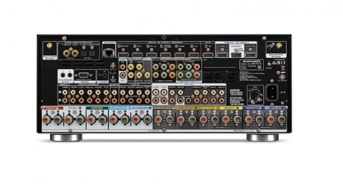 Receiver 9.2 Marantz SR7015, Ultra HD 8K, Dolby Atmos, DTS:X, Auro3D, eARC, IMAX Enhanced, HEOS 3