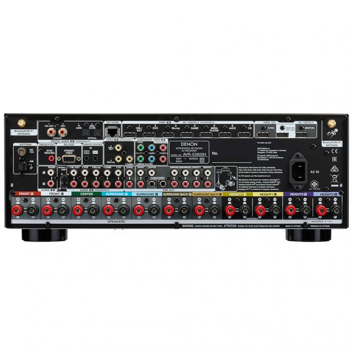 Receiver AV Denon AVR-X3600H 1