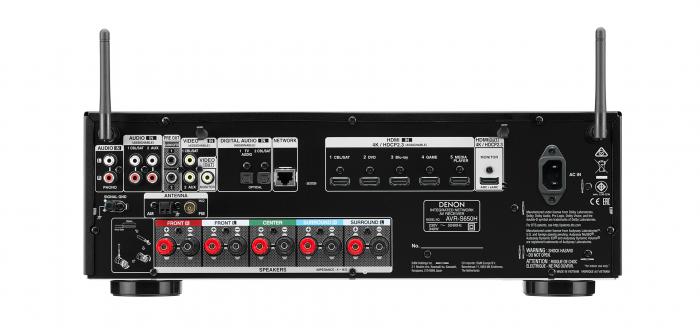 Receiver Denon AVR-S650H 4