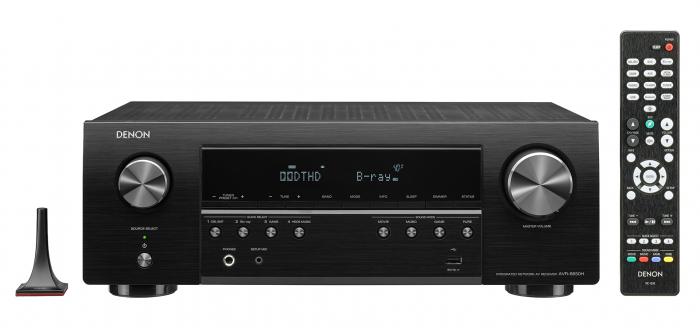 Receiver Denon AVR-S650H 1