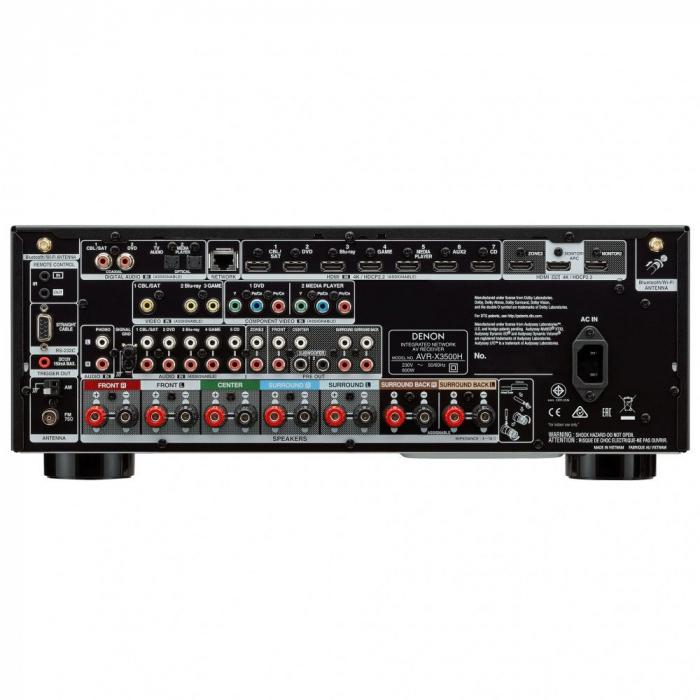 Receiver AV Denon AVR-X3500H 1