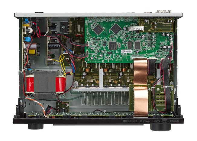 Receiver AV Denon AVR-X550BT 2