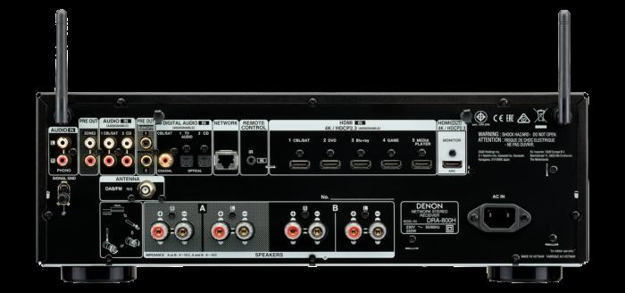 Receiver AV Stereo Denon DRA-800H 1