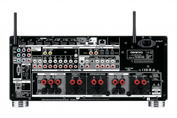 Receiver Onkyo TX-RZ1100 4