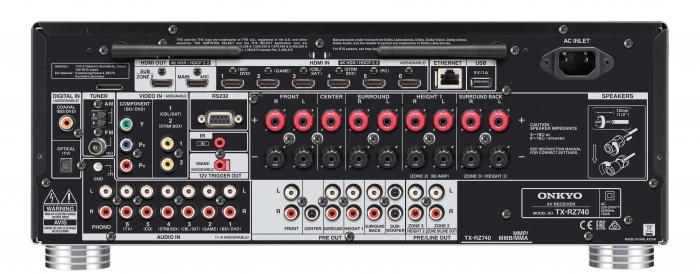 Receiver Onkyo TX-RZ740 3