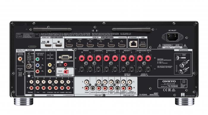 Receiver Onkyo TX-RZ840 4
