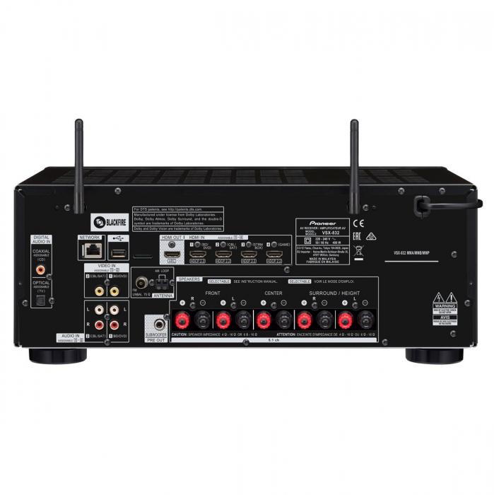 Receiver Pioneer VSX-832 3