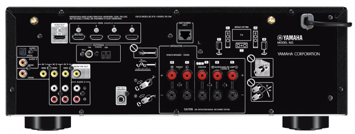 Receiver Yamaha RX-V485 1
