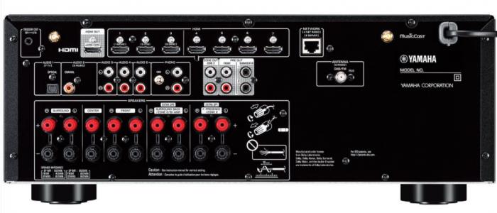 Receiver Yamaha RX-V6A 3