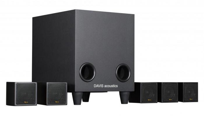 Sistem de Boxe 5.1 Davis Acoustics Cinestyle 3