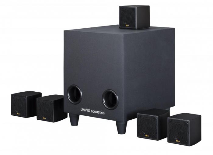 Sistem de Boxe 5.1 Davis Acoustics Cinestyle 2