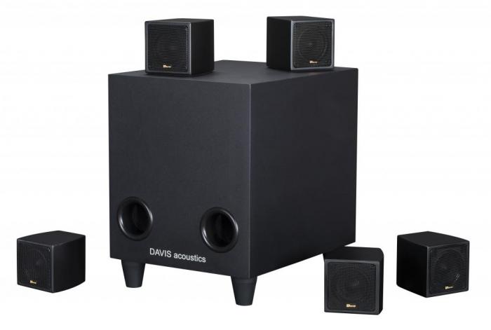 Sistem de Boxe 5.1 Davis Acoustics Cinestyle 1