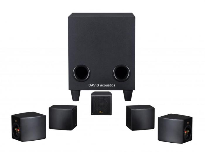 Sistem de Boxe 5.1 Davis Acoustics Cinestyle 0