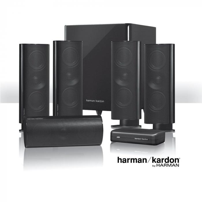 Sistem de boxe 5.1 Harman Kardon HKTS 65BQ 0