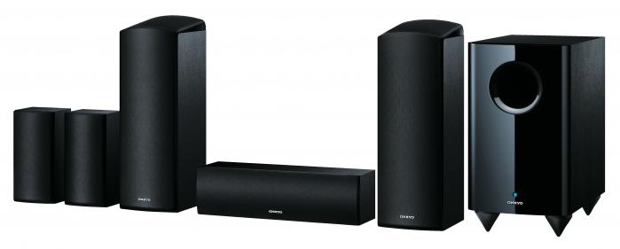 Sistem de boxe Dolby Atmos 5.1 Onkyo SKS-HT588 0