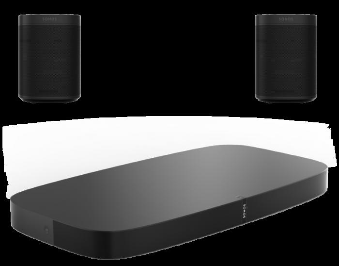 Sonos Playbase + 2 x Sonos One SL [0]