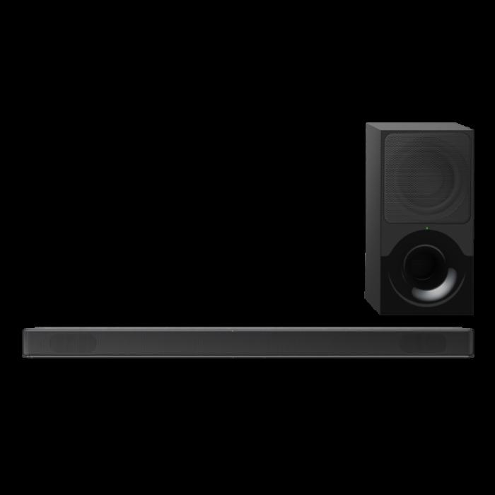 Sony HTXF9000, Bară de sunet cu 2.1 canale, Dolby Atmos/DTS:X şi tehnologie Bluetooth, Neagra [0]