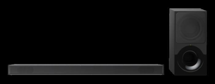 Sony HTXF9000, Bară de sunet cu 2.1 canale, Dolby Atmos/DTS:X şi tehnologie Bluetooth, Neagra [1]