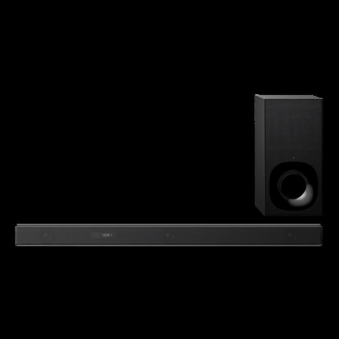 Sony HTZF9, Bară de sunet cu 3.1 canale, Dolby Atmos/DTS:X şi tehnologie Wi-Fi/Bluetooth, Neagra 0