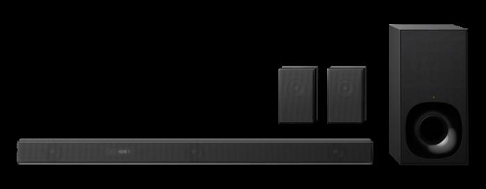 Sony HTZF9, Bară de sunet cu 3.1 canale, Dolby Atmos/DTS:X şi tehnologie Wi-Fi/Bluetooth, Neagra 1