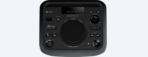 Sistem Audio Sony MHCV11, Bluetooth, NFC, Mega Bass şi efecte de sunet de DJ 1