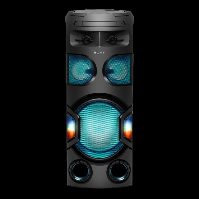 Sistem audio High Power Sony MHCV72D, Sunet 360grade, Hi-Fi, Bluetooth, NFC, Dj Effects, USB, DVD, Party music, Party lights 0