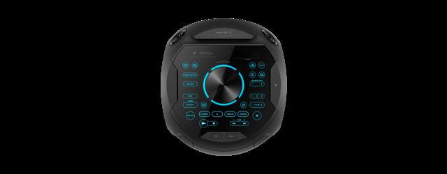 Sistem audio High Power Sony MHCV72D, Sunet 360grade, Hi-Fi, Bluetooth, NFC, Dj Effects, USB, DVD, Party music, Party lights 1