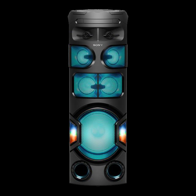 Sistem audio High Power Sony MHCV82D, Jet Bass Booster, Sunet 360 grade, Hi-Fi, Bluetooth, NFC, Dj Effects, USB, DVD, Party music, Party lights 0