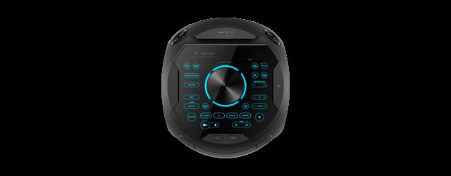 Sistem audio High Power Sony MHCV82D, Jet Bass Booster, Sunet 360 grade, Hi-Fi, Bluetooth, NFC, Dj Effects, USB, DVD, Party music, Party lights 1