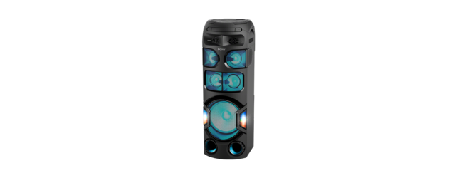 Sistem audio High Power Sony MHCV82D, Jet Bass Booster, Sunet 360 grade, Hi-Fi, Bluetooth, NFC, Dj Effects, USB, DVD, Party music, Party lights 3