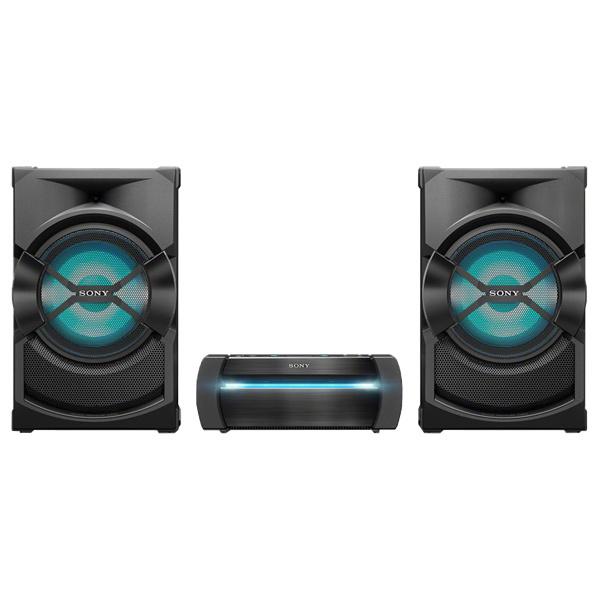 Sony SHAKEX30PN, Sistem Audio de mare putere cu DVD, Bluetooth cu LDAC, Efecte DJ, Functie Karaoke, NFC, BLACK 0