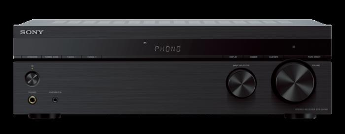 Sony STRDH190, Receptor stereo cu intrare Phono și conectivitate Bluetooth, Negru 1