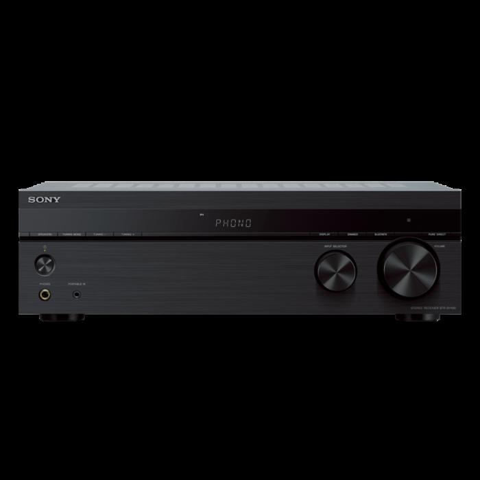 Sony STRDH190, Receptor stereo cu intrare Phono și conectivitate Bluetooth, Negru 0