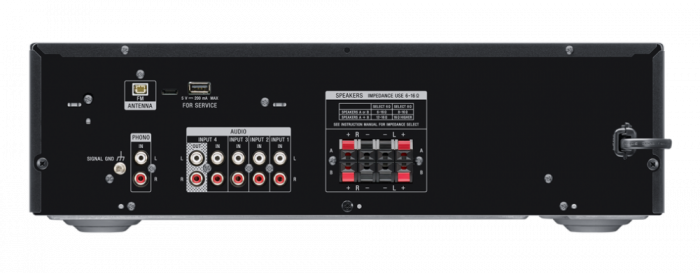 Sony STRDH190, Receptor stereo cu intrare Phono și conectivitate Bluetooth, Negru 3