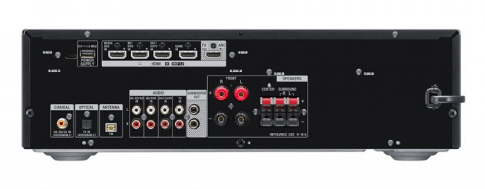 Sony STRDH590, Receptor AV Home Theatre pe 5.2 canale, Negru [3]