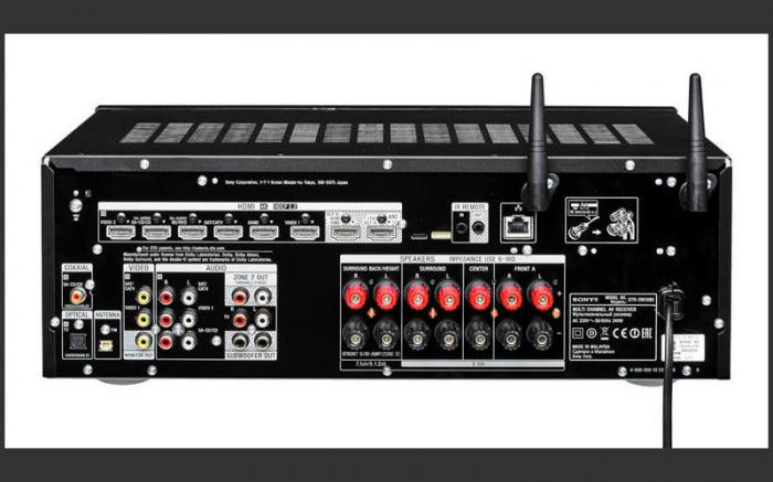 Sony STRDN1080 Receptor AV Home Theatre pe 7.2 canale, 4K, Multi Room, USB, NFC, Wi-Fi, Negru 3