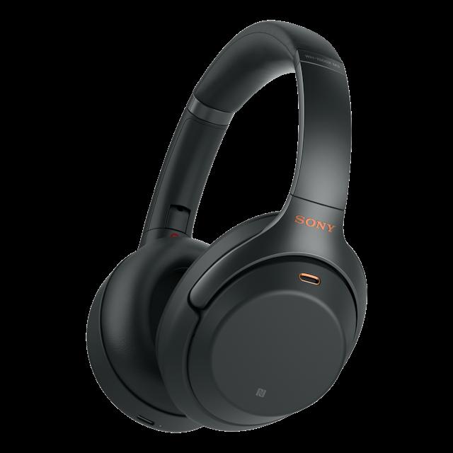 Sony WH1000XM3, Căști Wireless cu anulare digitală a zgomotului, NFC, Bluetooth 0