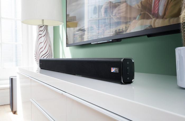 Soundbar Cambridge Audio TVB2-V2,  Subwoofer Wireless, Bluetooth si NFC, 120 W 2