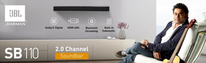 Soundbar JBL SB110 3