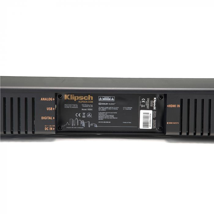 Soundbar Klipsch RSB-6 8
