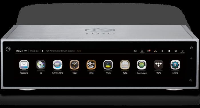 Streamer cu DAC si Preamplificator HiFi Rose RS150B [0]