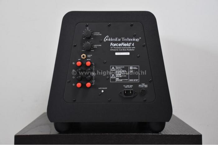 Subwoofer GoldenEar ForceField 4, 14Hz-250Hz, 1200W 3