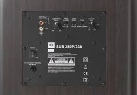 Subwoofer JBL Studio 250P 4