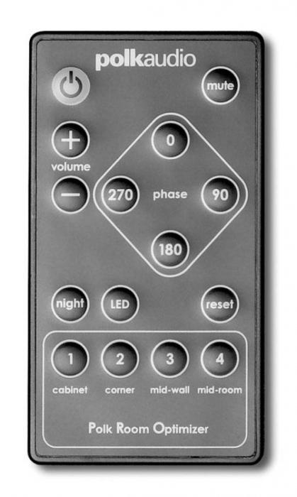Subwoofer Polk Audio DSW 550 PRO 3