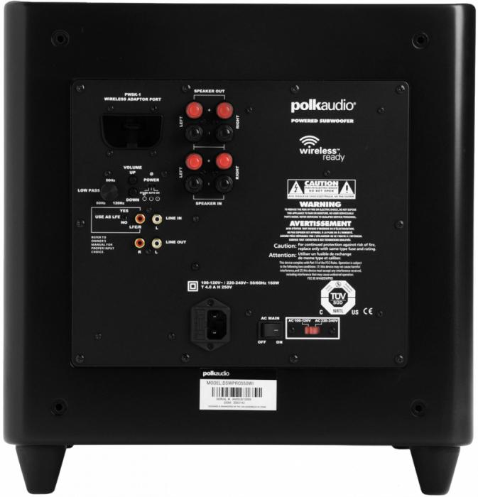 Subwoofer Polk Audio DSW 550 PRO 2