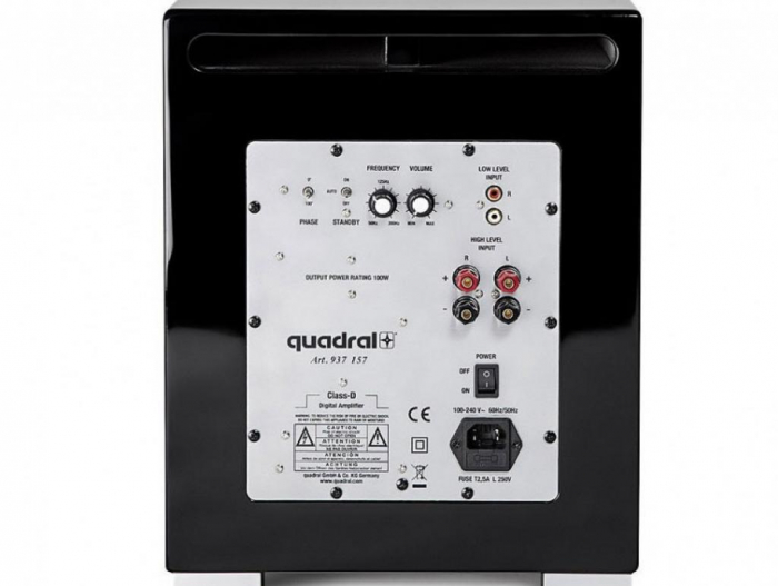Subwoofer Quadral Qube 10 Active 1