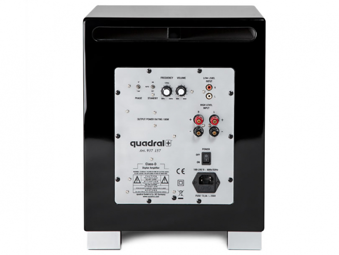 Subwoofer Quadral Qube 8 Active 1