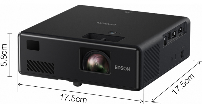Videoproiector Laser EPSON EF-11, Full HD 1920 x 1080, 1000 lumeni, contrast 2500000:1 [2]